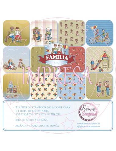 """Colección """"Familia"""" IMPRESA"""