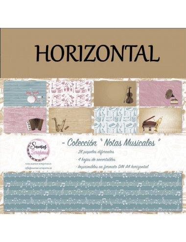 "Colección ""Notas Musicales""..."