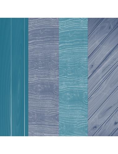 """Fondos """"Madera Azul Océano..."""